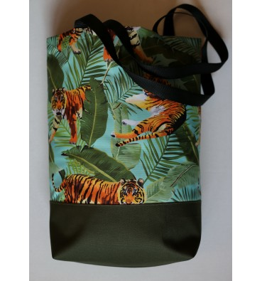 Shopping Bag with Tigers