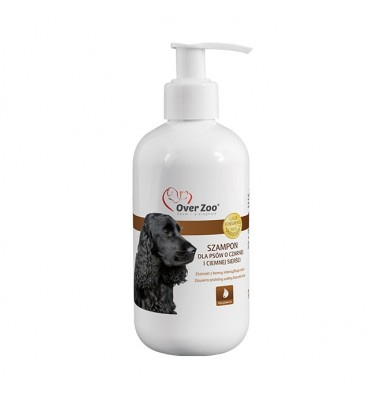 Dog shampoo for black and...