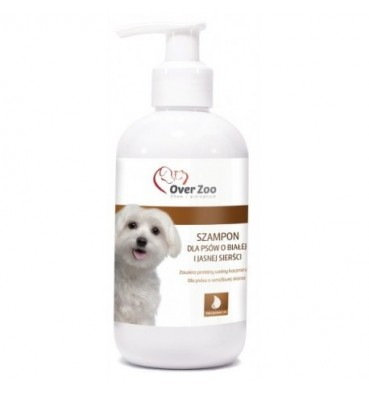 Dog shampoo for white and...