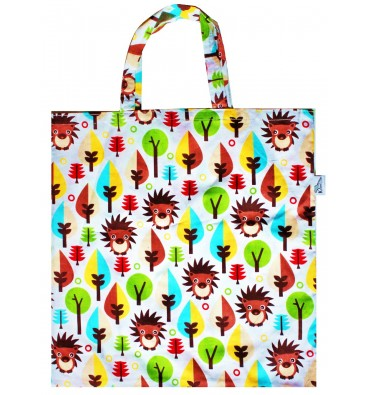 Shopping Bag with HEDGEHOGS