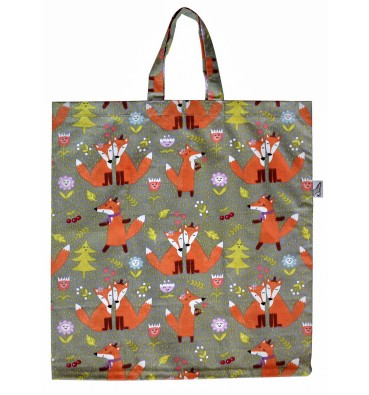 Shopping Bag with FOXES