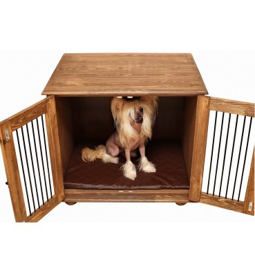 Wooden dog crate STANDARD L